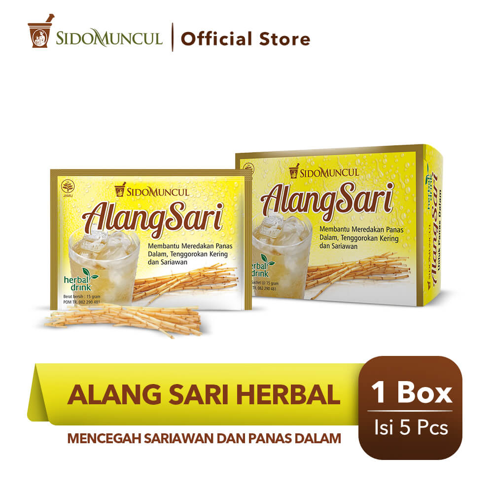 Alang Sari Herbal 5's - Mencegah Sariawan & Panas Dalam