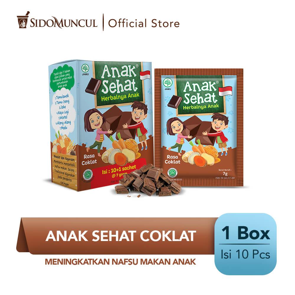 Anak Sehat Cokelat 10's - Meningkatkan Nafsu Makan