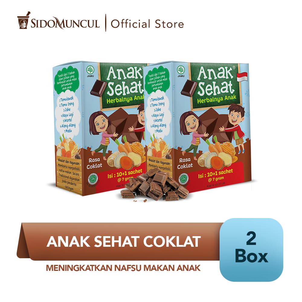 Anak Sehat Cokelat 2x10's - Meningkatkan Nafsu Makan