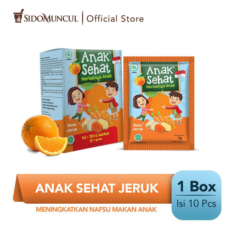 Anak Sehat Jeruk 10's - Meningkatkan Nafsu Makan