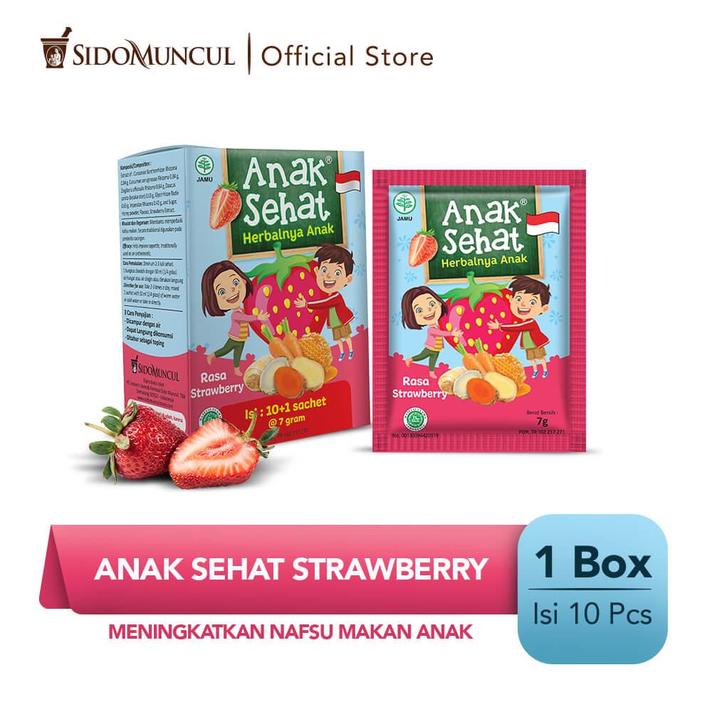 Anak Sehat Strawberry 10's - Meningkatkan Nafsu Makan