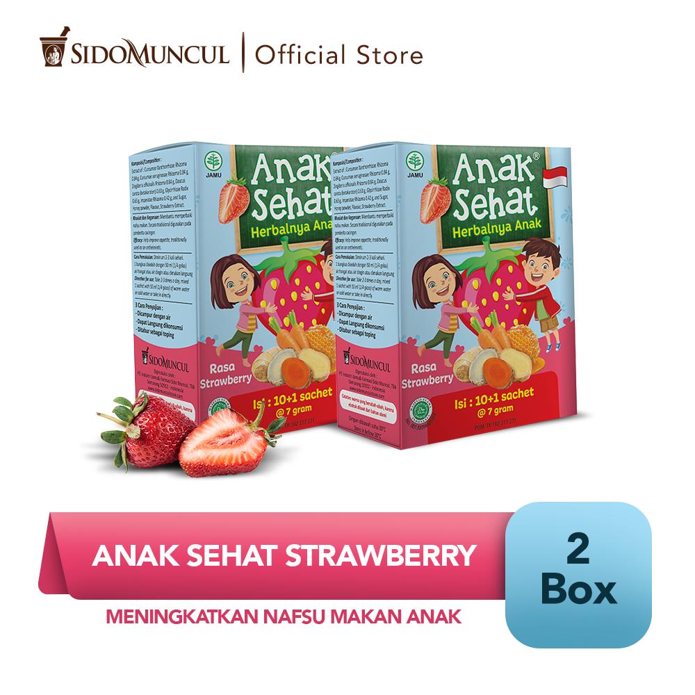 Anak Sehat Strawberry 2x10's - Meningkatkan Nafsu Makan