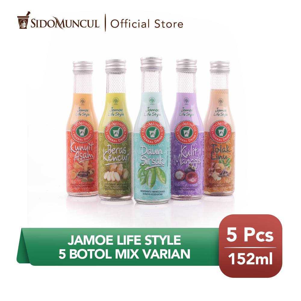 Jamu Jamoe Life Style 5 botol Mix Varian