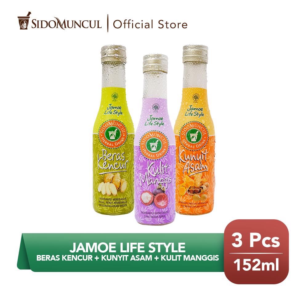 Jamu Jamoe Life Style - Beras Kencur + Kunyit Asam + Kulit Manggis