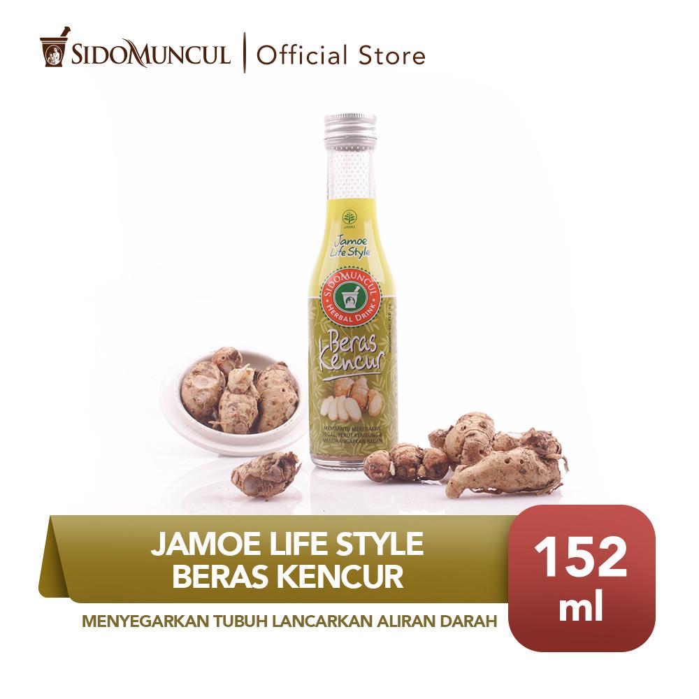 Jamu Jamoe Life Style Beras Kencur Menyegarkan Tubuh Melancarkan Darah