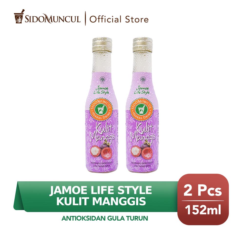 Jamu Jamoe Life Style Kulit Manggis Antioksidan Gula Turun 2x