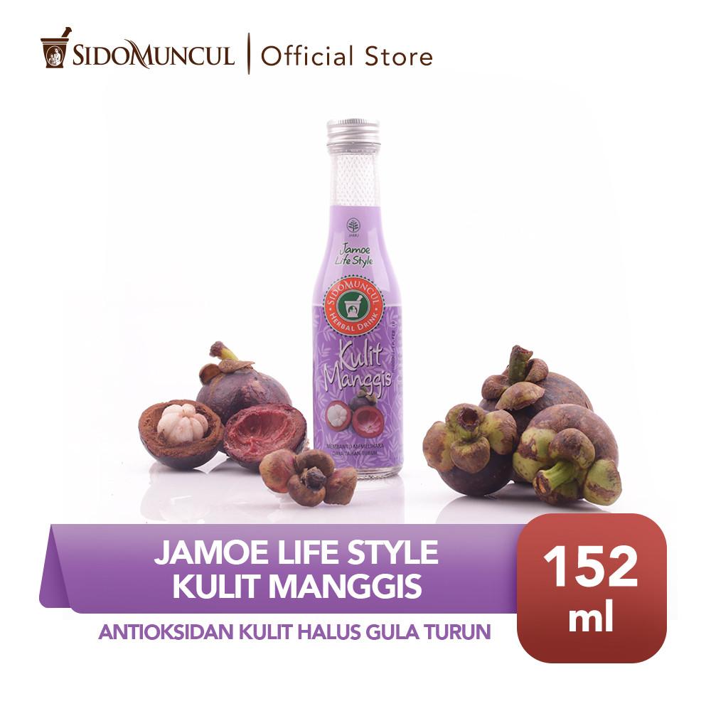 Jamu Jamoe Life Style Kulit Manggis Antioksidan Kulit Halus Gula Turun