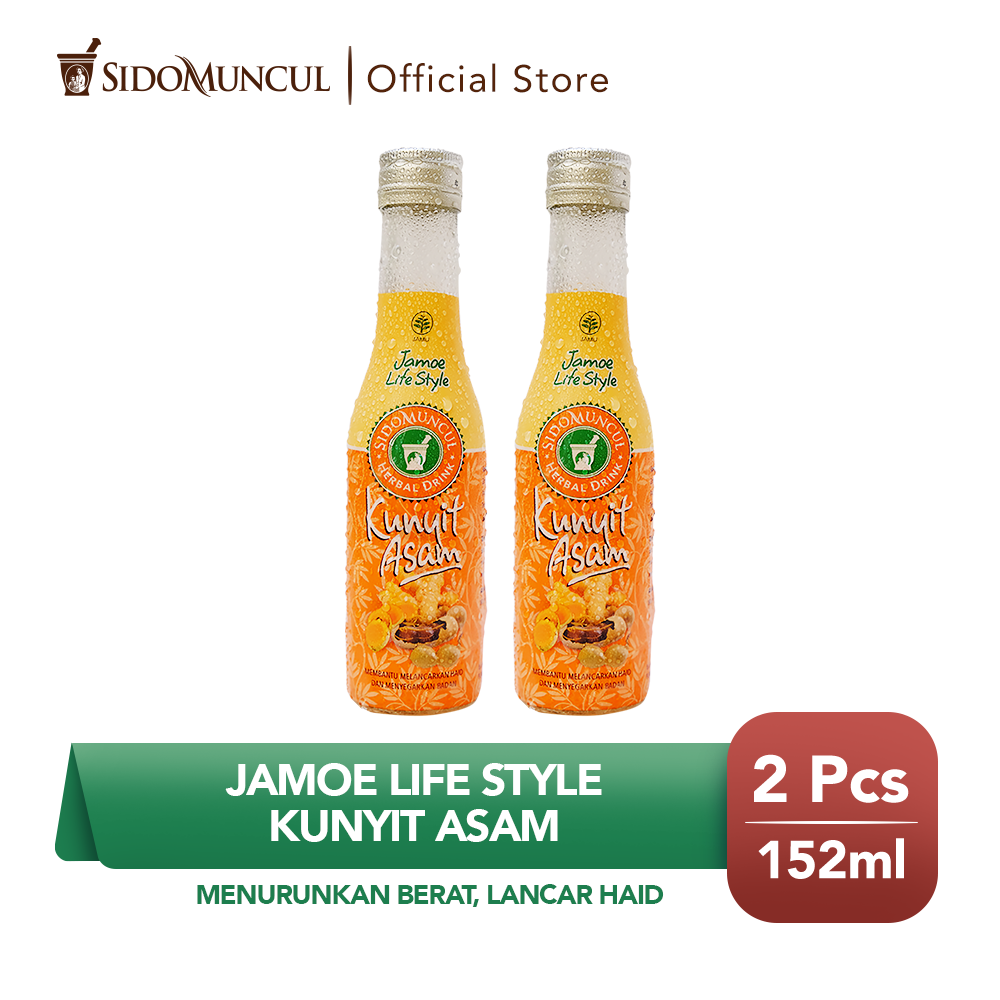 Jamu Jamoe Life Style Kunyit Asam Menurunkan Berat Lancar Haid 2x
