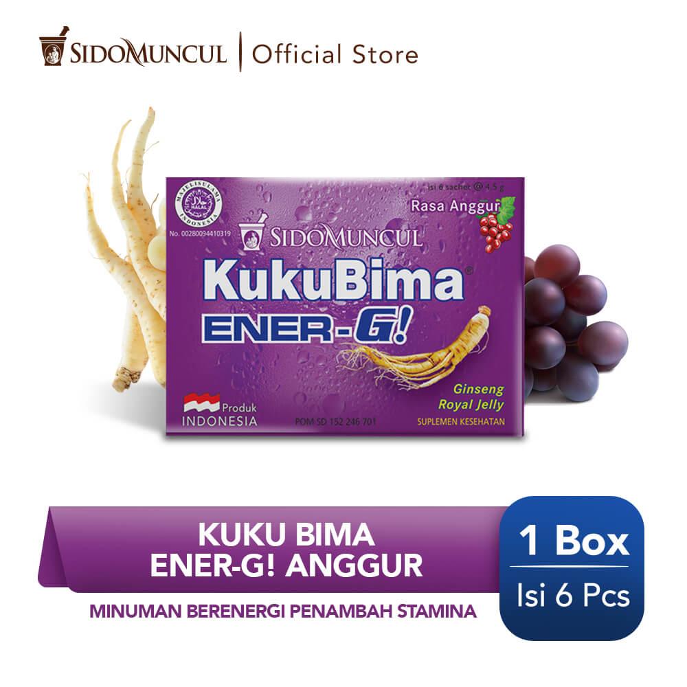 Kuku Bima Ener-G Anggur 6's - Minuman Berenergi Penambah Stamina