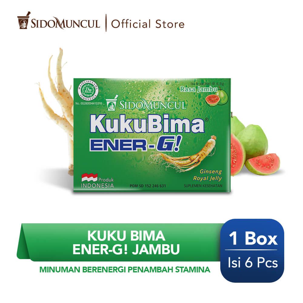 Kuku Bima Ener-G Jambu 6's - Minuman Berenergi Penambah Stamina