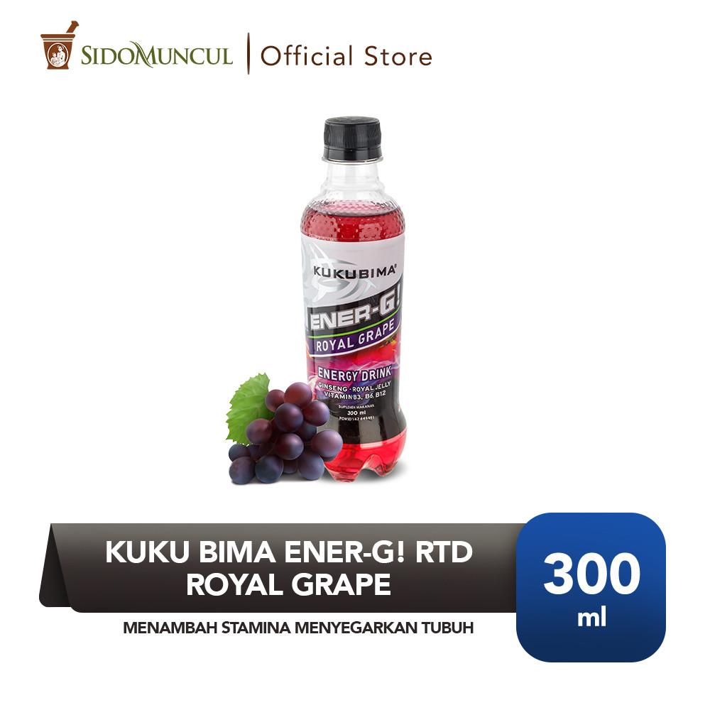 Kuku Bima Ener-G! RTD Royal Grape Menambah Stamina Menyegarkan Tubuh