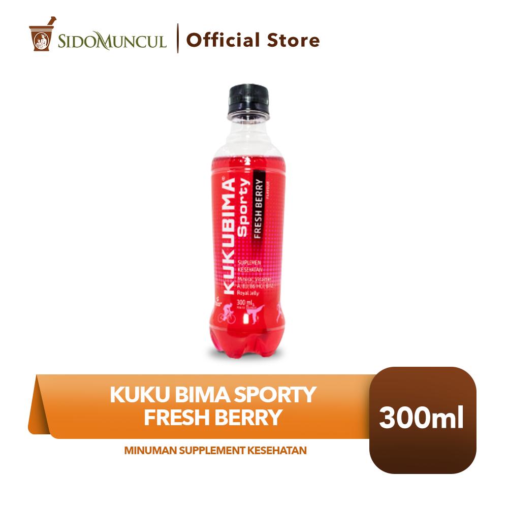 Kuku Bima Sporty Fresh Berry 300 ML Minuman Supplement Kesehatan