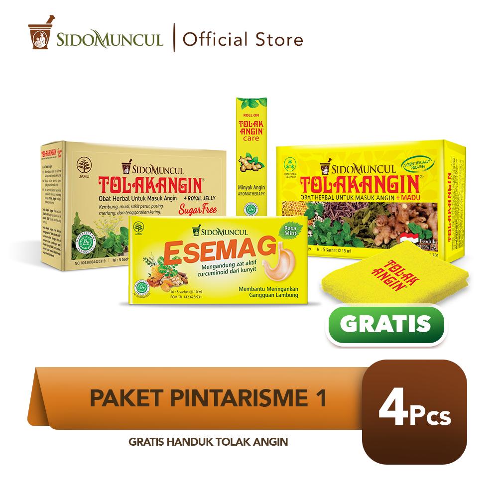 Paket Pintarisme 1 FREE Handuk Tolak Angin Cair Care Esemag
