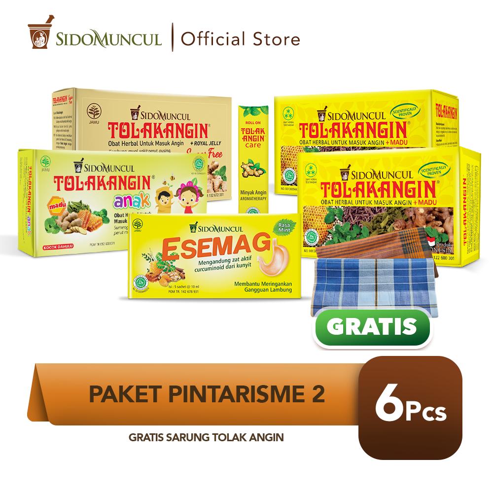 Paket Pintarisme 2 FREE Sarung Tolak Angin Cair Bebas Gula Esemag