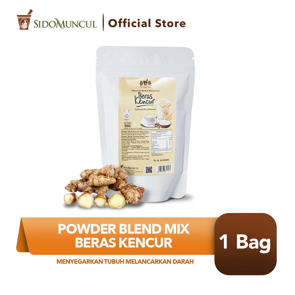 Powder Blend Mix Beras Kencur Menyegarkan Tubuh Melancarkan Darah