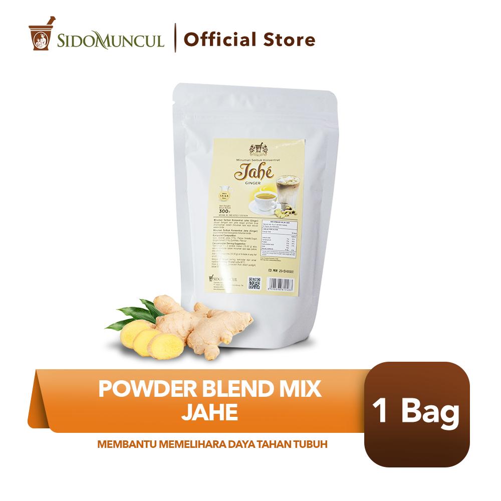 Powder Blend Mix Jahe Membantu Memelihara Daya Tahan Tubuh