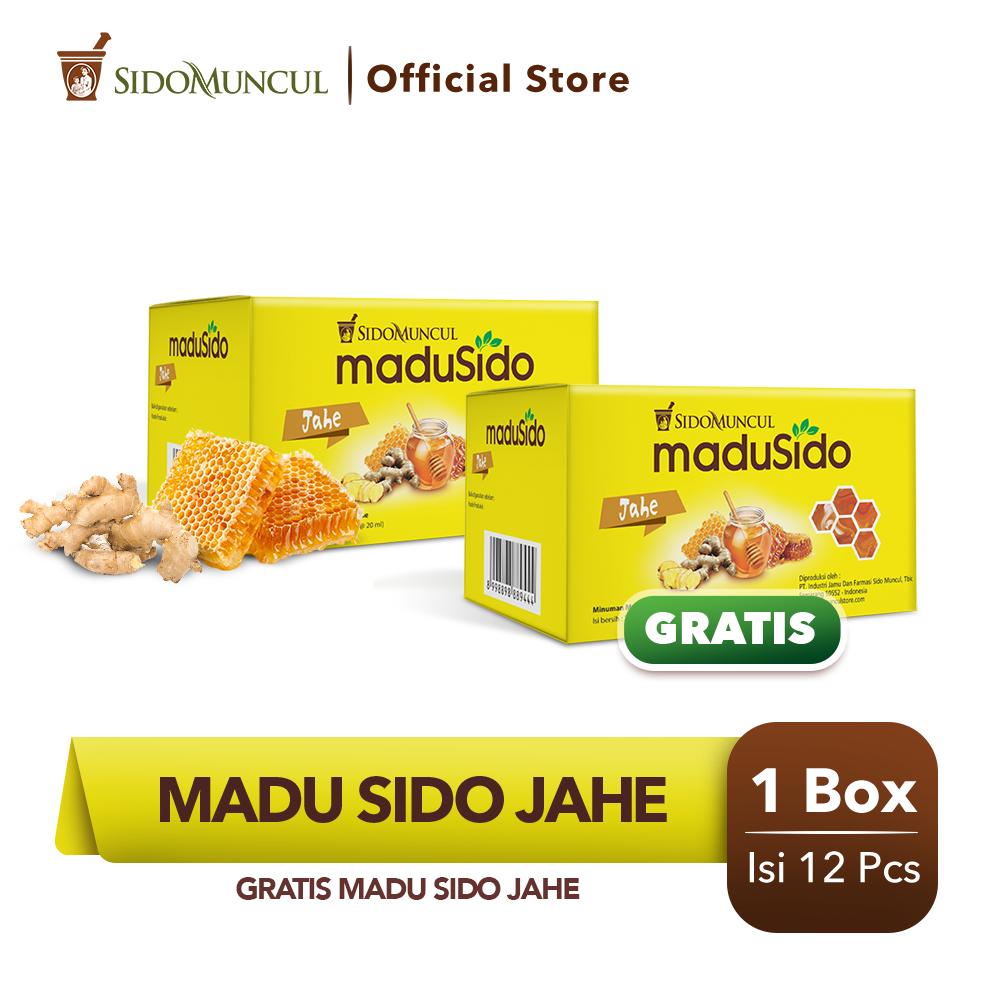 Sido Muncul Madu Sido Jahe 12's Murni Menyehatkan Tubuh - Buy 1 Get 1