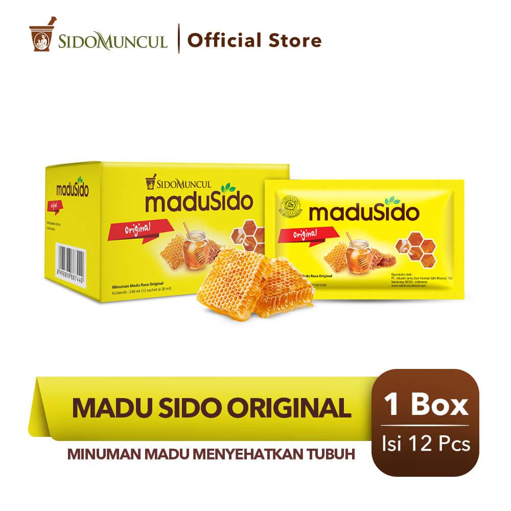 Sido Muncul Madu Sido Original 12's Murni - Menyehatkan Tubuh
