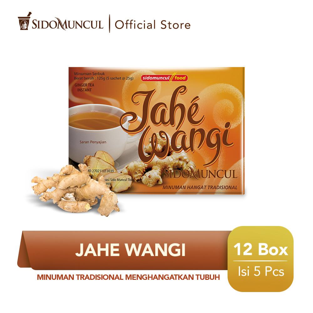 SidoMuncul Jahe Wangi / Doos - 12 Box