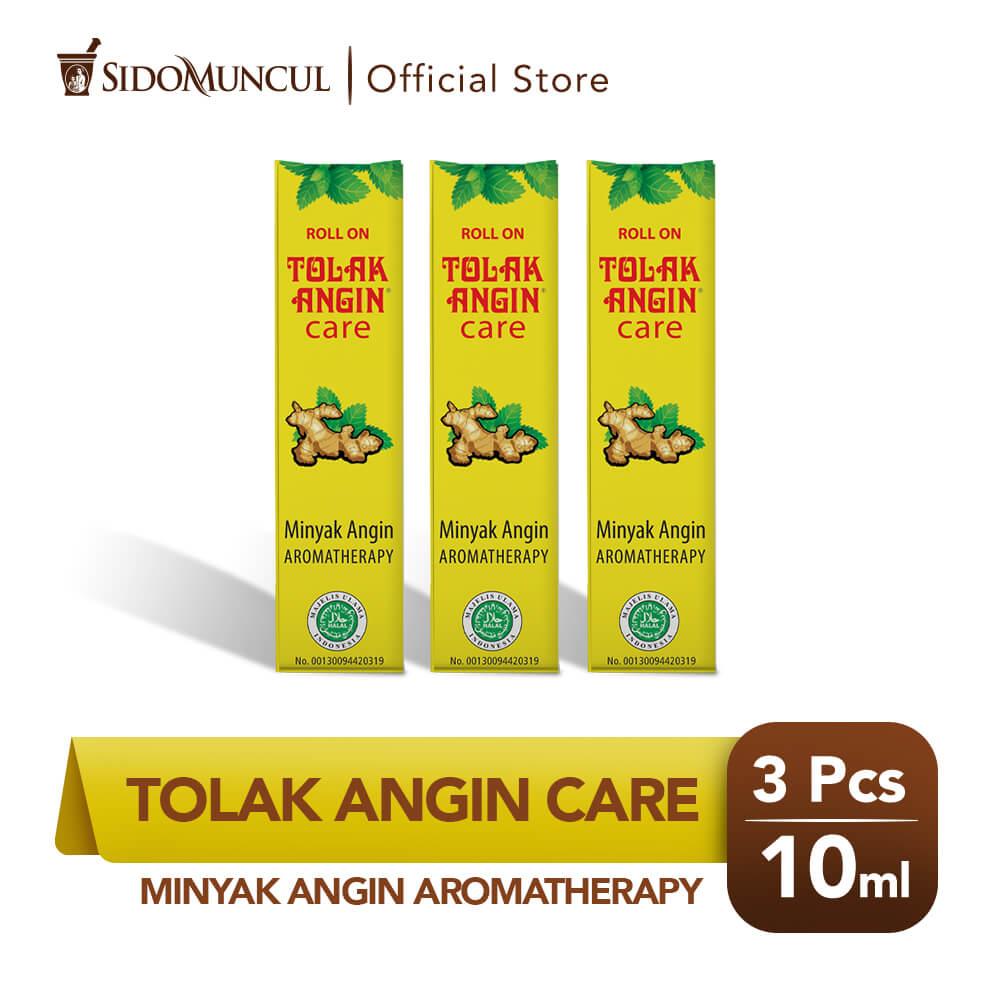Tolak Angin Care 3x10 ml Minyak Angin Aromaterapi - Hilangkan Gatal